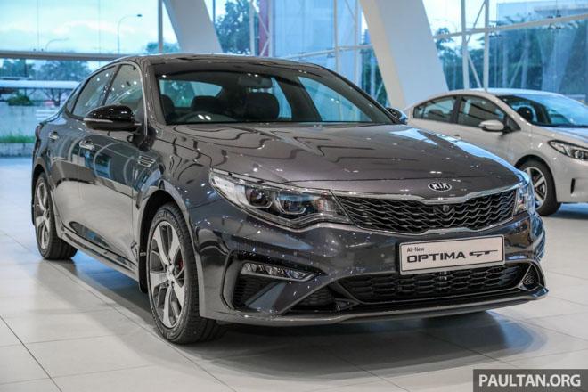 Kia Optima GT 2019 sắp ra mắt, giá bán từ 948 triệu đồng - 1