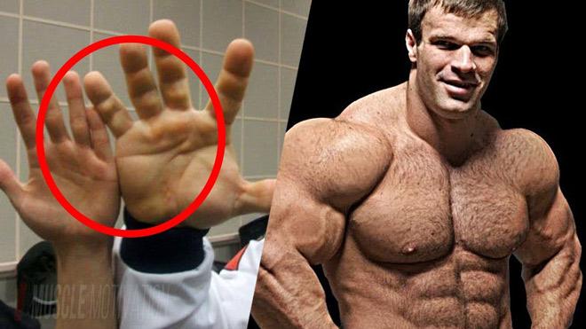"""Kinh hãi """"bàn tay voi"""" vô địch thiên hạ: Lực sỹ 140kg vật tay như thần - 1"""