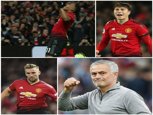 Martial - Luke Shaw thăng hoa trở lại: Hãy để yên cho Mourinho làm việc