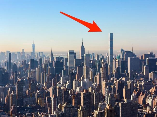 Căn penthouse nằm trên tầng 95 của tòa căn hộ 432 Park Ave ở New York (Mỹ) đang được rao bán với giá 82 triệu USD (hơn 1900 tỷ đồng).