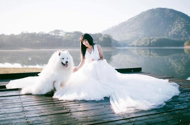 Phương Thanh mặc váy cưới, úp mở chuyện bí mật lấy chồng - 1