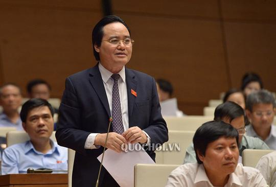 """Nhiều chất vấn """"nóng"""" chờ Bộ trưởng Phùng Xuân Nhạ """"đăng đàn"""" - 1"""