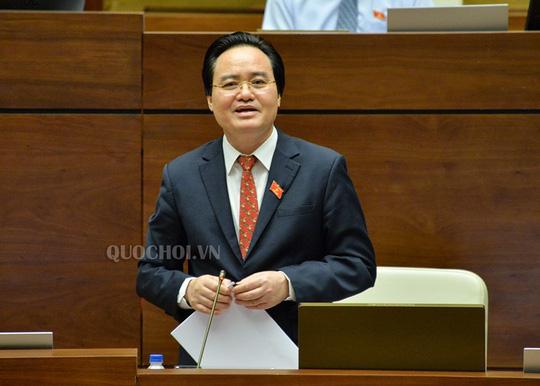 ĐBQH Phạm Thị Minh Hiền: Tôi không thấy Bộ trưởng Phùng Xuân Nhạ nhận trách nhiệm - 1