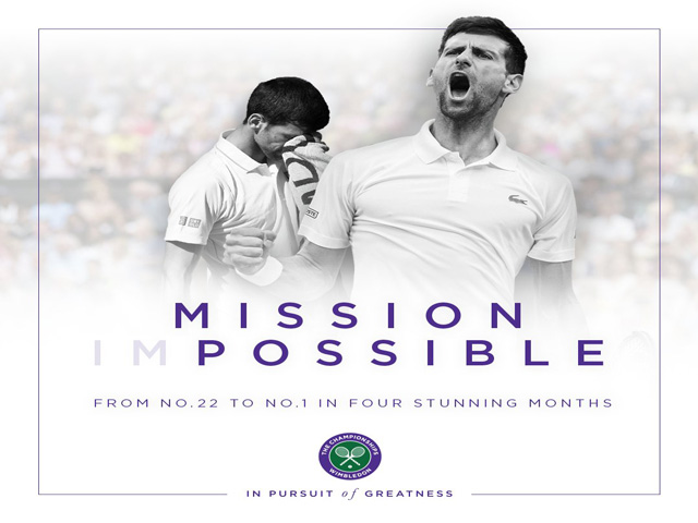 Djokovic vượt Nadal lên đỉnh thế giới: Kỳ tích 18 năm mới xuất hiện