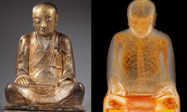 Dân TQ quyết đòi lại xác ướp nhà sư trong tượng Phật 1.000 tuổi - 1