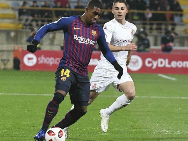 Video, kết quả bóng đá Cultural Leonesa - Barcelona: Không chiến định đoạt phút bù giờ