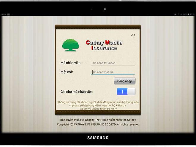 Công ty TNHH Bảo Hiểm Nhân Thọ Cathay ra mắt ứng dụng Cathay Mobile Insurance - 1