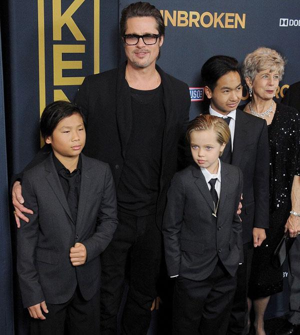 Sốc: 6 đứa con đều muốn sống với Brad Pitt, công sức tranh giành suốt 2 năm của Angelina Jolie đổ sông đổ bể - 1