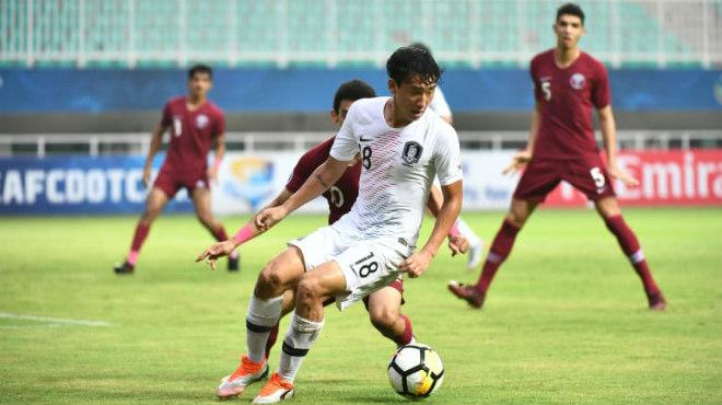 U19 Qatar - U19 Hàn Quốc: 4 bàn mãn nhãn & tấm vé vàng - 1