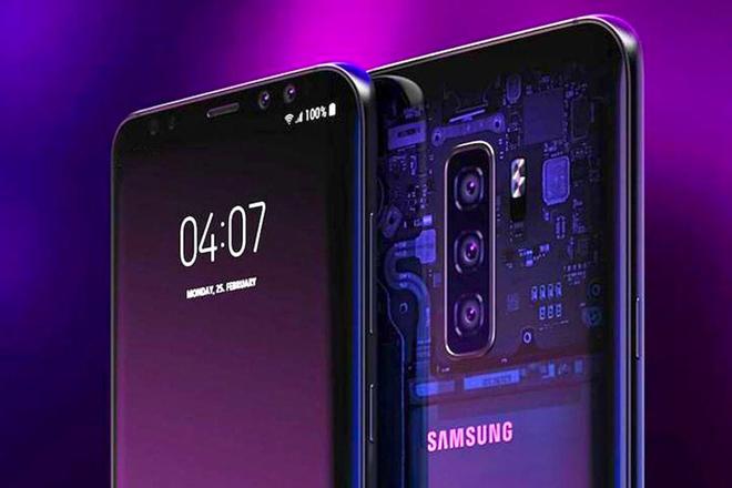 """Galaxy S10 sẽ gây """"choáng"""" với camera ẩn dưới màn hình - 1"""