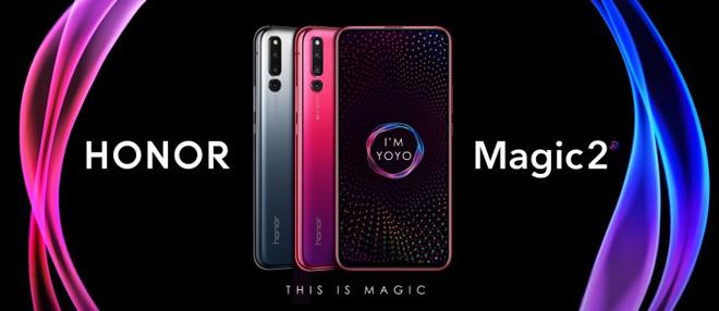 """iPhone XR chỉ là """"tôm tép"""" khi so với Honor Magic 2 từ Huawei - 1"""