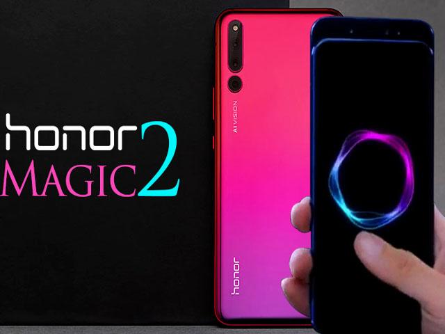 """iPhone XR chỉ là """"tôm tép"""" khi so với Honor Magic 2 từ Huawei"""