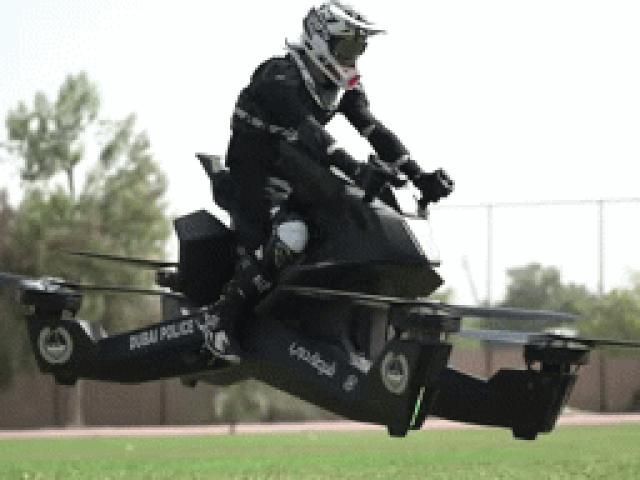 """NÓNG: Môtô bay Scorpion-3 khởi bán, quái xế sắp bị """"tận diệt"""""""
