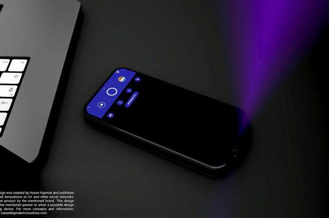 Choáng với concept iPhone tích hợp máy chiếu, iFan phấn khích tột độ - 1