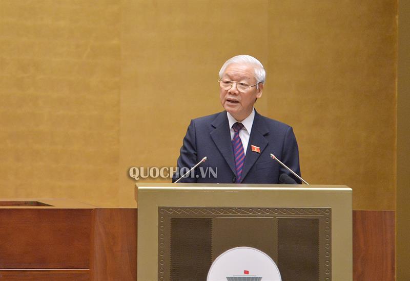 Chủ tịch nước Nguyễn Phú Trọng: Sớm phê chuẩn Hiệp định CPTPP giúp nâng cao vị thế Việt Nam trên trường quốc tế - 1