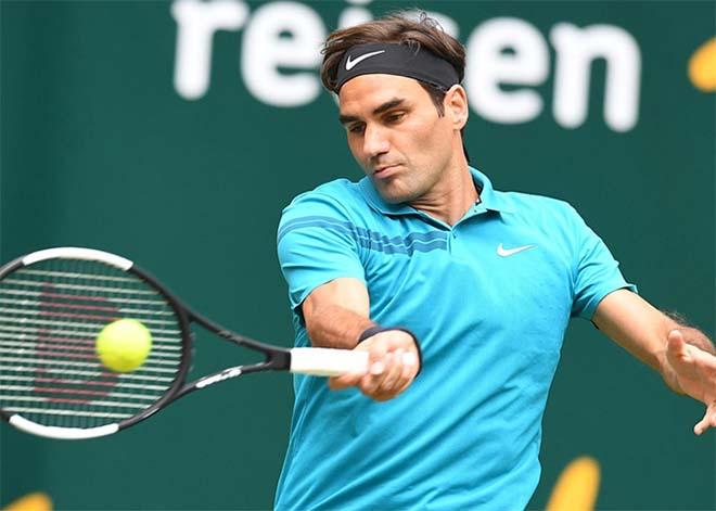 """Đỉnh cao Federer: Cứu bóng như Nadal, lốp bóng đối thủ """"khóc thét"""" - 1"""