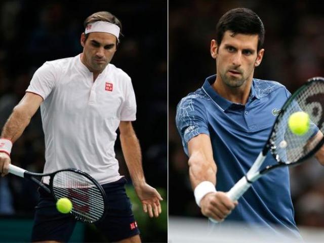 """Trực tiếp tennis Federer - Djokovic: """"Tàu tốc hành"""" dọa cho Nole lo lắng"""