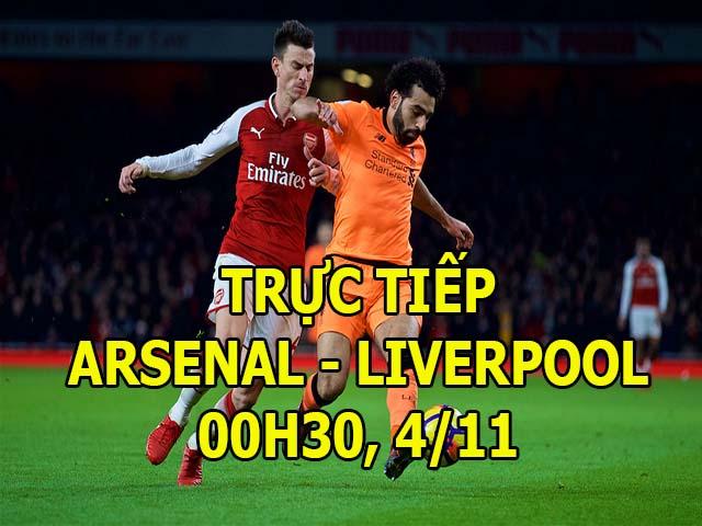 Chi tiết Arsenal - Liverpool: Căng thẳng phút bù giờ (KT)