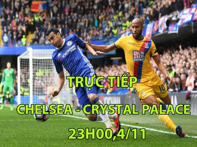 Trực tiếp Chelsea - Crystal Palace: Chủ động cầm bóng