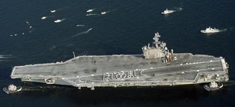 """Dàn chiến đấu cơ, tàu sân bay """"khủng"""" của Mỹ đổ xô về Nhật Bản làm gì? - 1"""