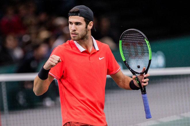 Djokovic - Khachanov: Chiến thắng oanh liệt, đăng quang xứng đáng (CK Paris Masters) - 1