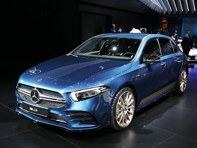 Mercedes-Benz A35 AMG sẽ bán ra vào tháng 12/2018: Giá từ 1,063 tỷ đồng