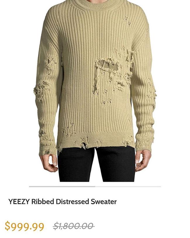 """Không thể tin được chiếc áo """"mèo cào chó cắn"""" lại được bán với giá cao như vậy!"""