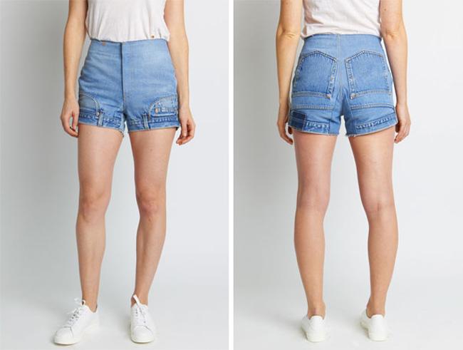 Chỉ là may chiếc quần đùi mới trên chiếc quần dài đã cũ
