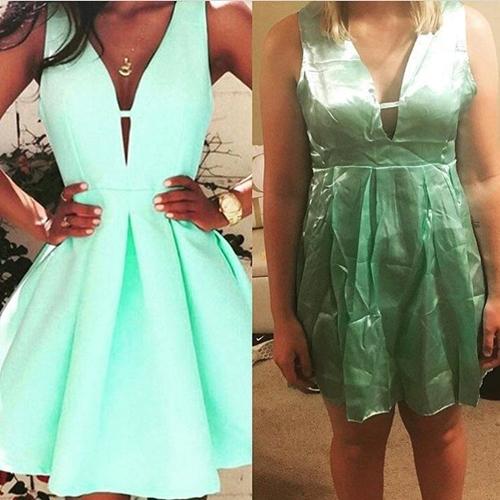 Những sự cố xấu hổ muốn độn thổ khi mua váy online - 1