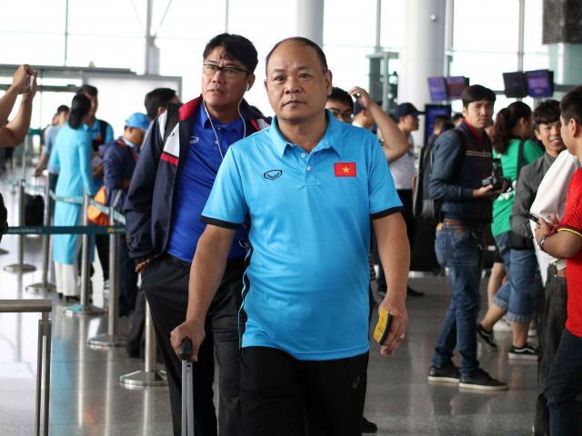 ĐT Việt Nam dự AFF Cup: Cán bộ C45 theo sát thầy trò Park Hang Seo