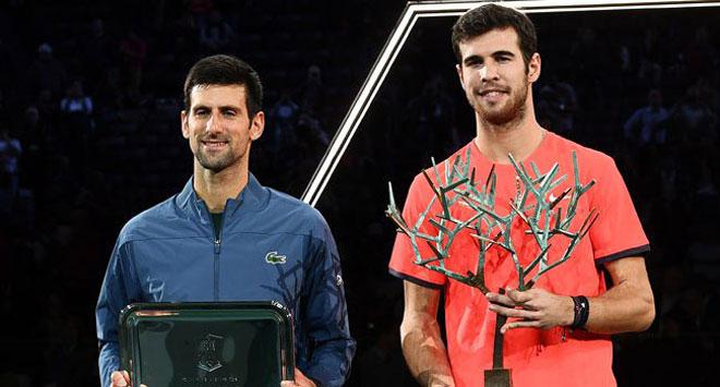 Djokovic thua Khachanov: Bình thản đón nhận, tự tin vô địch ATP Finals - 1