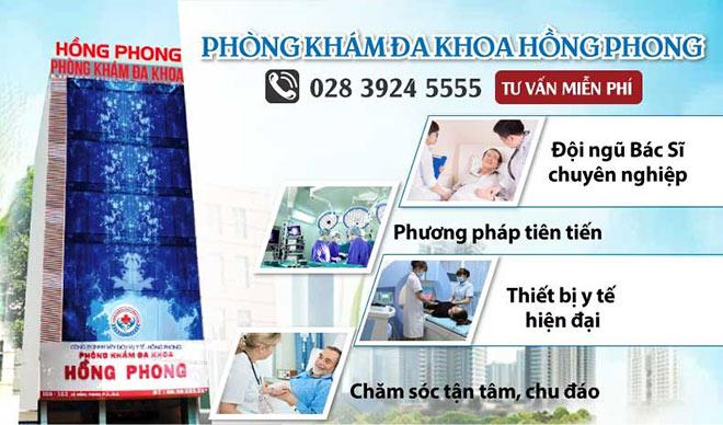 Khám và điều trị bệnh xã hội tại Phòng Khám Đa Khoa Hồng Phong TPHCM - 1