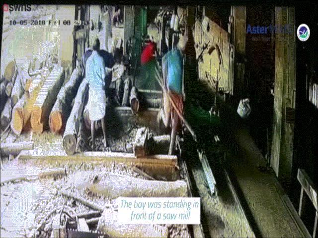 Ấn Độ: Bị bò đuổi, thanh niên chạy quàng đứt lìa cả bàn tay