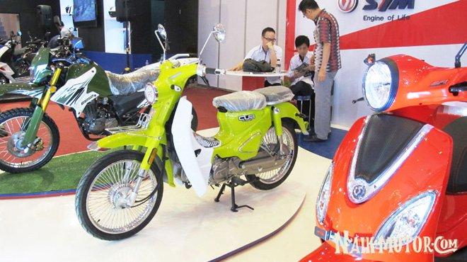 """SYM Cub Classic: """"Con lai"""" của Honda Super Cub C125, giá rẻ hơn - 1"""