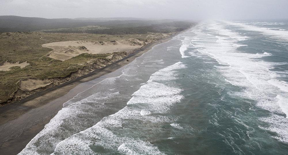 New Zealand: Tưởng búp bê trôi nổi trên biển, không ngờ là em bé - 1