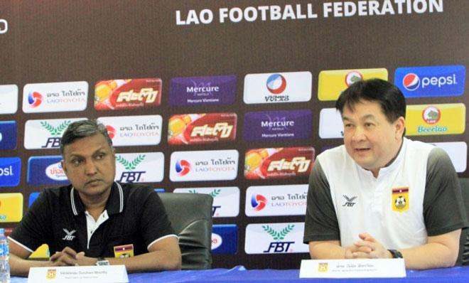 """Sếp của ĐT Lào """"nắn gân"""" thầy trò HLV Park Hang Seo như thế nào? - 1"""