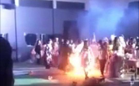 Vụ nữ sinh viên bốc cháy tại lễ hội Halloween: Không xem xét kỷ luật - 1