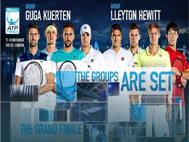 """ATP Finals 2018: """"Bò tót"""" Nadal bỏ giải, Federer hẹn Djokovic chung kết"""