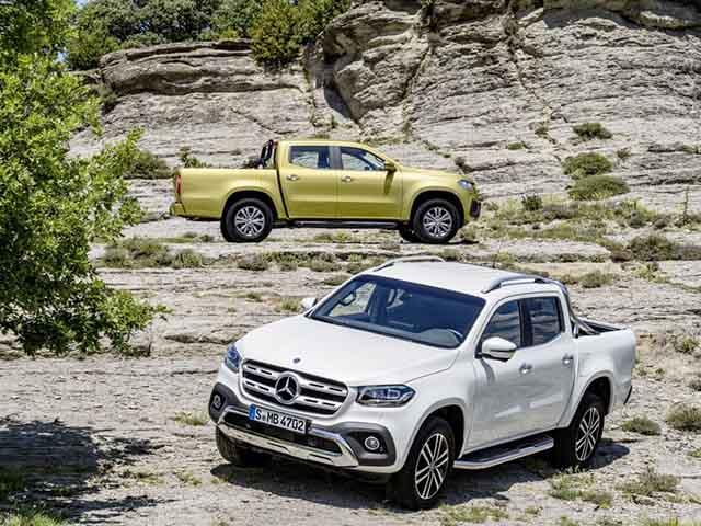 Mercedes-Benz X-Class bổ sung thêm gói trang bị đặc biệt, hơn 100 màu sơn ngoại thất
