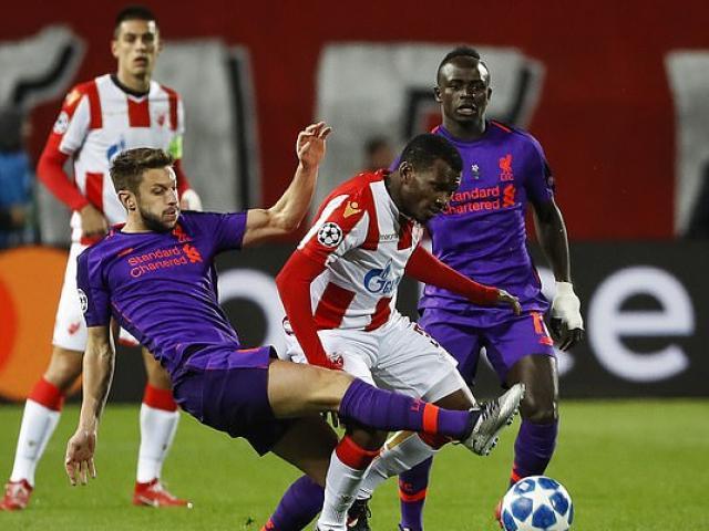 Red Belgrade - Liverpool: Amazing 2 attacks
