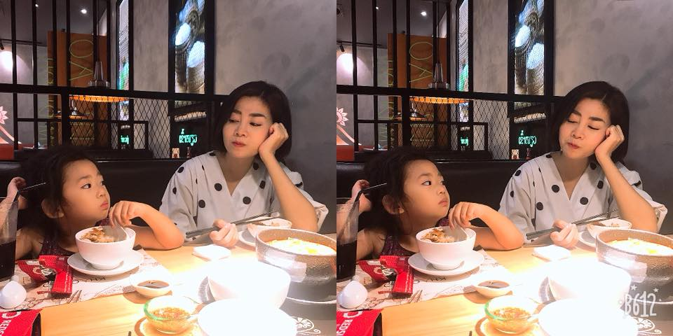 Mai Phương xinh đẹp rạng rỡ dẫn con gái đi ăn sau 2 tháng xuất viện - 1