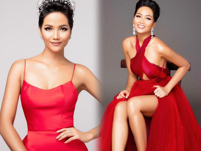 H'Hen Niê khoe thân hình tượng đồng trước thềm Miss Universe