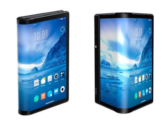 Trên tay smartphone có màn hình gập lại – Flex Pai, quá độc đáo