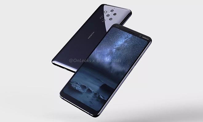 """Siêu phẩm Nokia 9 PureView có đến 5 camera sau, iPhone XS Max cũng """"chào thua"""" - 1"""