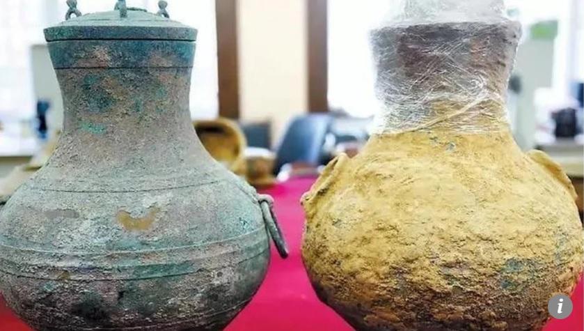 Tìm được bình cổ TQ có thể chứa rượu quý tộc 2.000 năm tuổi - 1