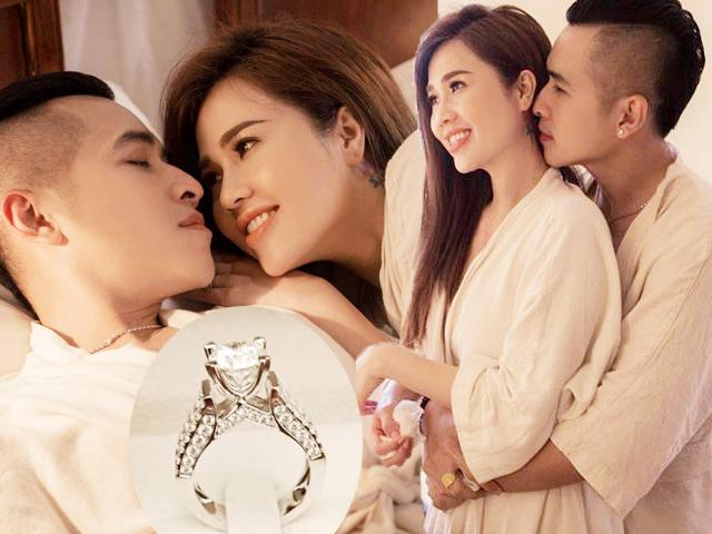 Chị gái Ngọc Trinh cưới hot boy Vbiz: Nhẫn cưới bạc tỷ và chuyện tình gây choáng