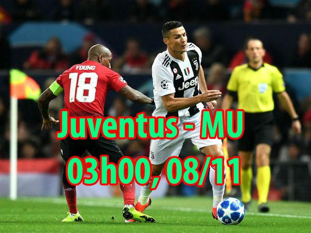"""Nhận định bóng đá Juventus - MU: Ronaldo quyền uy cứu nguy """"Quỷ đỏ"""""""