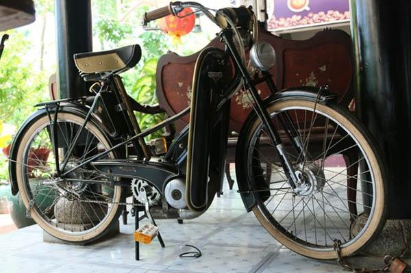 Ngỡ ngàng dàn xe đạp máy cổ tiền tỉ ở Bạc Liêu - 1