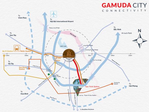 Quy hoạch hạ tầng phía Nam sắp hoàn thiện, Gamuda Gardens gia tăng giá trị - 1