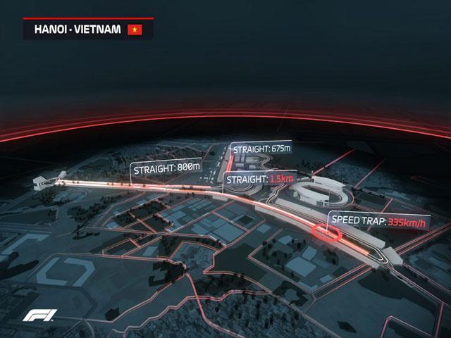 Việt Nam tổ chức đua F1: Bật mí về trường đua tại Mỹ Đình